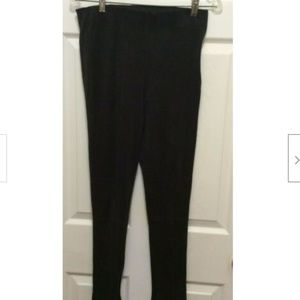 Bishop + Young Pants M Black Suede Feel Stretch